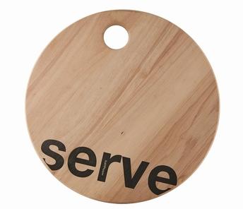 serveerplank Serve Loft - Salt&Pepper