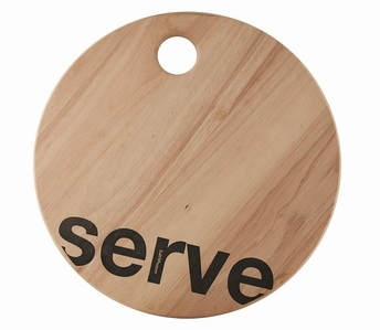 Loft serveerplank Serve - Salt&Pepper