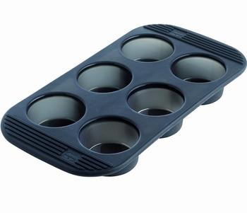siliconen bakvorm 6 muffins-Mastrad