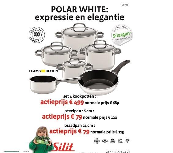 kookpottenset(4) wit-Silit